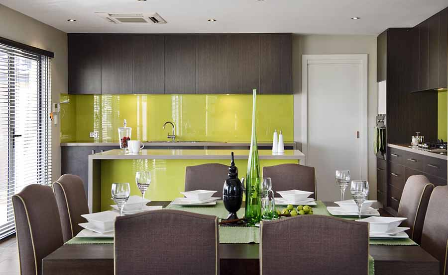 Coloured Glass Splashbacks Perth