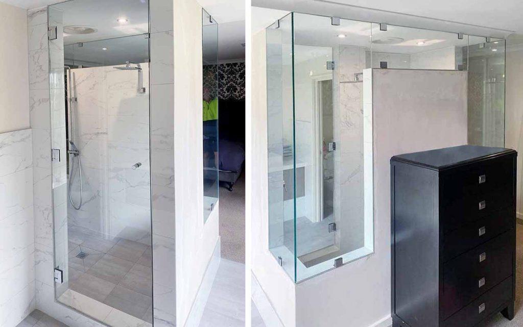 Shower screen in Secret Harbour
