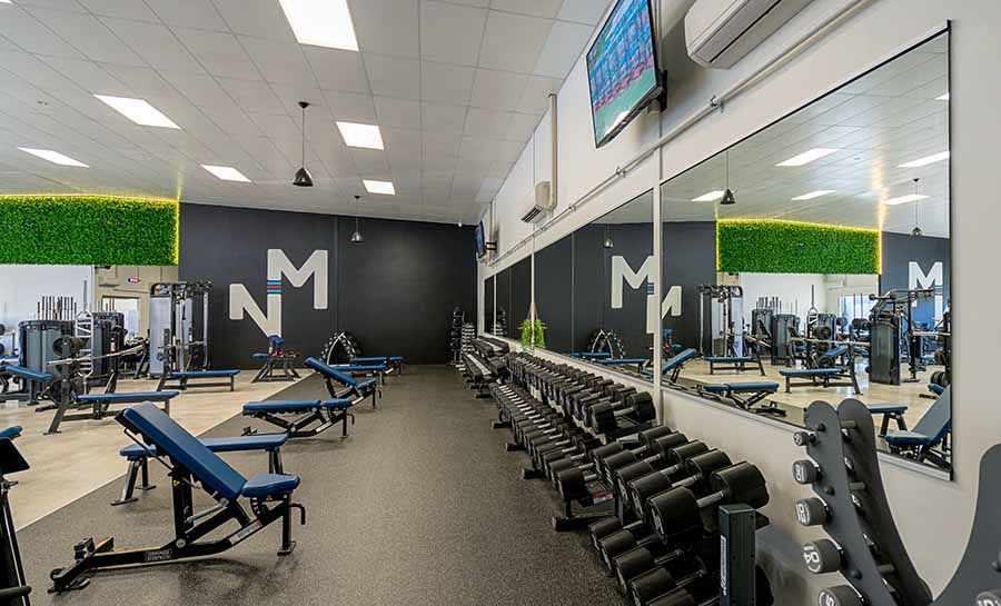 Large Mirrors for Gym Wall